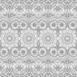 Teste padrão tribal abstrato sem emenda (vetor) Fotografia de Stock Royalty Free