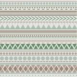 Teste padrão tribal da textura do vetor sem emenda Fotografia de Stock