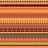 Teste padrão tribal da textura do vetor sem emenda Imagens de Stock
