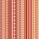 Teste padrão tribal da textura do vetor sem emenda Fotografia de Stock Royalty Free