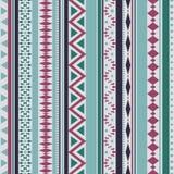 Teste padrão tribal da textura do vetor sem emenda ilustração do vetor