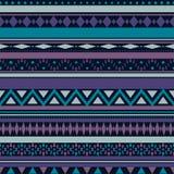Teste padrão tribal da textura do vetor sem emenda Fotos de Stock Royalty Free
