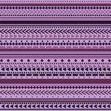 Teste padrão tribal da textura do vetor sem emenda Foto de Stock Royalty Free