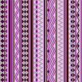 Teste padrão tribal da textura do vetor sem emenda Imagens de Stock Royalty Free