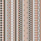 Teste padrão tribal da textura do vetor sem emenda Foto de Stock