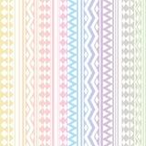 Teste padrão tribal da textura do vetor sem emenda Imagem de Stock Royalty Free