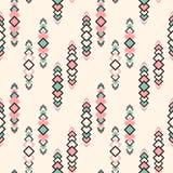 Teste padrão tribal de Seamles do vetor ilustração stock