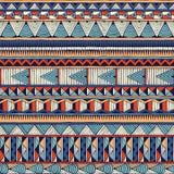 Teste padrão tribal do vetor Foto de Stock Royalty Free