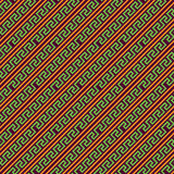Teste padrão tribal do vetor da forma abstrata Fotografia de Stock Royalty Free