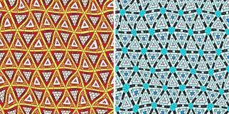 Teste padrão tribal sem emenda ilustração royalty free