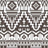 Teste padrão tribal sem emenda do vetor ilustração stock