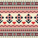 Teste padrão tribal sem emenda do vetor Foto de Stock Royalty Free