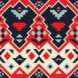 Teste padrão tribal sem emenda do vetor Imagem de Stock Royalty Free