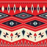 Teste padrão tribal sem emenda do vetor Imagens de Stock