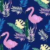 Teste padrão tropical ilustração stock