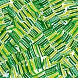 Teste padrão tropical, fundo floral do vetor sem emenda das folhas de palmeira ilustração stock