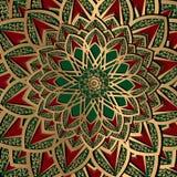 Teste padrão turco do fundo do arabesque étnico ilustração royalty free