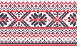 Teste padrão ucraniano do bordado Foto de Stock Royalty Free