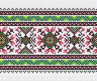 Teste padrão ucraniano do bordado Foto de Stock