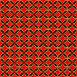 Teste padrão Variegated da repetição do azevinho Foto de Stock Royalty Free
