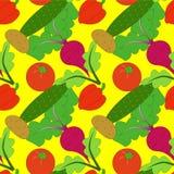 Teste padrão vegetal Fotografia de Stock