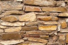 Teste padrão velho da parede de pedra Fotografia de Stock