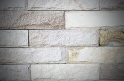 Teste padrão velho da parede de tijolos de Brown Foto de Stock Royalty Free