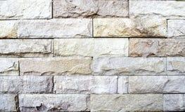 Teste padrão velho da parede de tijolos de Brown Fundo da parede Fotos de Stock Royalty Free