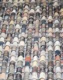 Teste padrão velho do telhado Imagem de Stock