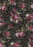 Teste padrão velho do vintage com rosas. Fotos de Stock Royalty Free