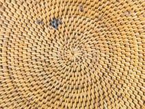 Teste padrão velho do weave Fotografia de Stock Royalty Free