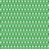 Teste padrão verde Fotos de Stock Royalty Free