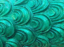 Teste padrão verde foto de stock