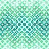Teste padrão verde abstrato ilustração do vetor