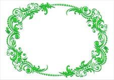 Teste padrão verde da mola Imagem de Stock