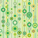 Teste padrão verde da primavera Foto de Stock Royalty Free