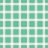 Teste padrão verde do guingão, ilustração sem emenda do vetor do fundo Imagem de Stock