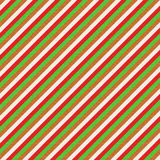 Teste padrão verde do Natal e marrom vermelho Imagens de Stock