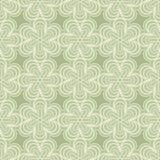 Teste padrão verde dos botões Fotos de Stock Royalty Free