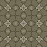 Teste padrão verde-oliva sem emenda _2 da matriz Fotografia de Stock
