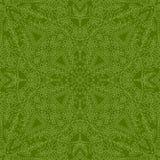 Teste padrão verde sem emenda Fotos de Stock Royalty Free
