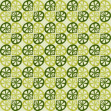 Teste padrão verde sem emenda do vetor Fotografia de Stock