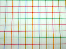 Teste padrão verificado e branco do fundo Fotografia de Stock
