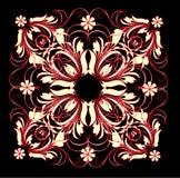 Teste padrão vermelho Ilustração Royalty Free