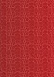 Teste padrão vermelho Fotografia de Stock Royalty Free