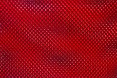 Teste padrão vermelho abstrato da imagem de fundo do ponto Fotografia de Stock