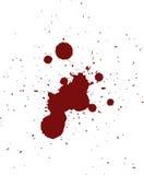 Teste padrão vermelho do Spatter do sangue Imagem de Stock Royalty Free