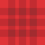 Teste padrão vermelho sem emenda da manta Fotos de Stock Royalty Free