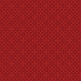 Teste padrão vermelho - videiras Imagens de Stock