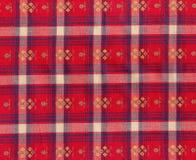 Teste padrão vibrante de matéria têxtil Fotografia de Stock Royalty Free